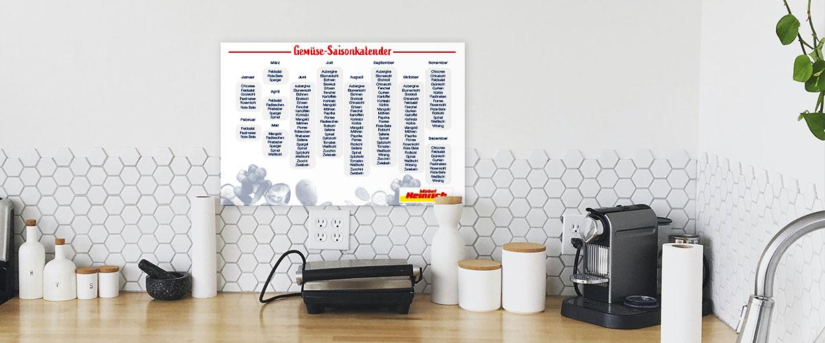 Gemüse-Saisonkalender